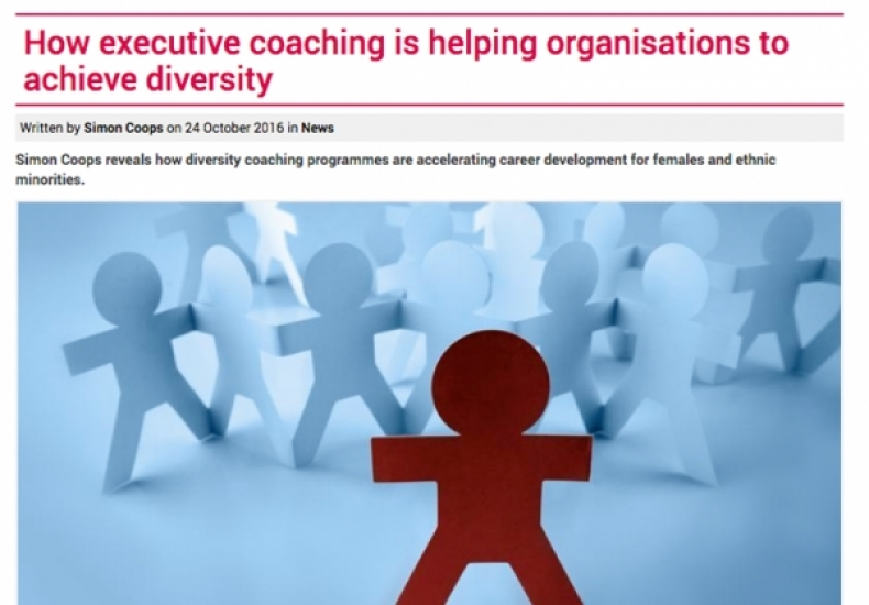 Media: Training Journal - How executive coaching is helping organisations to achieve diversity